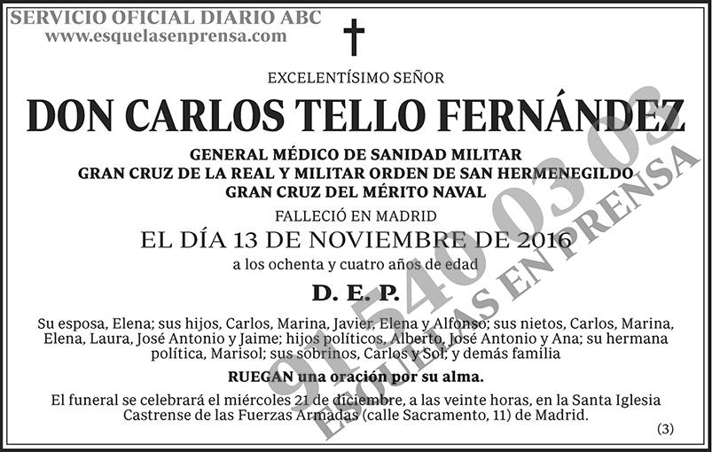 Carlos Tello Fernández